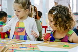 Children are attending Small-Class French Playgroup 90-Min Class in Lou Pichoun