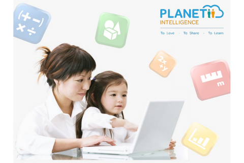 PLANETii Club Math ID 12 months (6-12 years, Online) - Whizpa