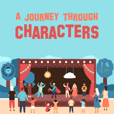 A Journey Through Characters: Improv and Storytelling (13-16 years, Central)