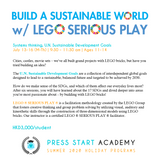 Build A Sustainable World w/ LEGO ® SERIOUS PLAY ® (11-14 years, Central)