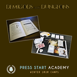 """Demigods and Dungeons"" Creative Writing & Adventure Storytelling Course (Ages 8-11, Central)"