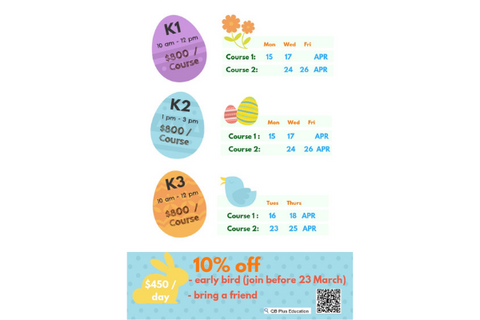 QB Easter Book Camp (K1-K3, Hong Kong) - Whizpa