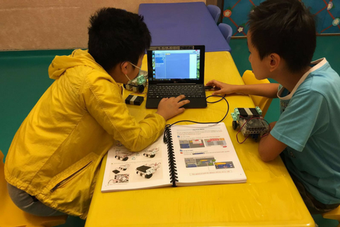 Robocode 4 Classes (6-12 years, Kennedy Town)