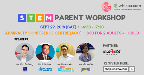 Sunday Kiss x Whizpa STEM Parent Workshop - Whizpa