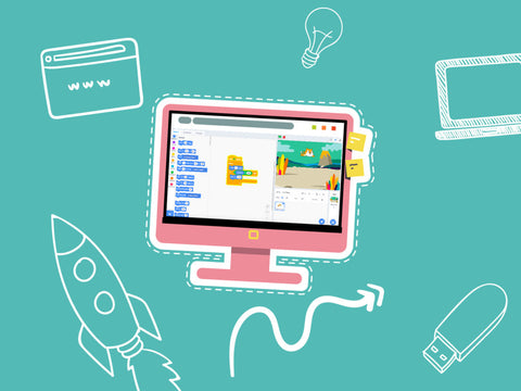 Scratch 3.0: Build your own 2D Arcade Games 5-Day Camp (8-10 years, Online)