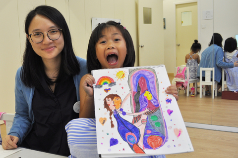 Visual Art Course 2 Classes (3-12 years, Central) - Whizpa