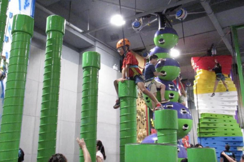 Clip N' Climb 10 Sessions (>4 years, Quarry Bay) - Whizpa