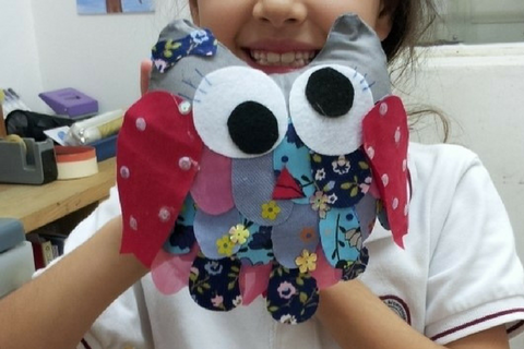 Fabric Design & Crafting 2 Classes (6-8 years, Kennedy Town) - Whizpa