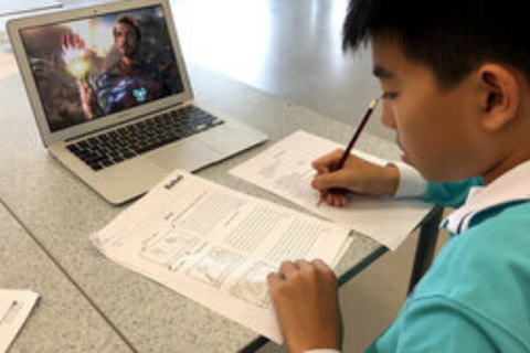 English Learning with Film (12-15 years, Online) - Whizpa