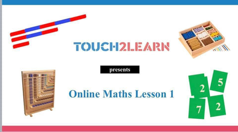 Montessori Foundation Maths Classes (3-4yrs, Online)