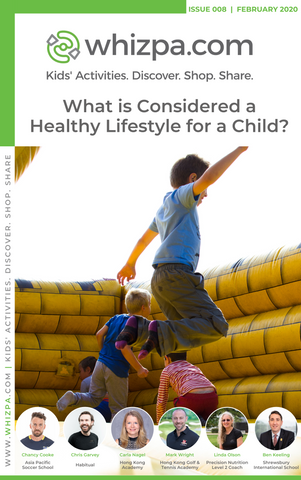 Whizpa eBook#8: What is Considered a Healthy Lifestyle for a Child? - Whizpa