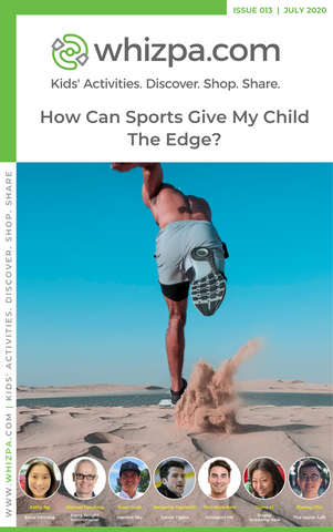 Whizpa eBook#13: How Can Sports Give My Child The Edge?
