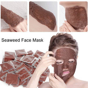Algae Seaweed Mask Anti Wrinkle Face Skin Care Masks Algae Mask  Moisturizing Whitening Acne Spots Remove Mud Mask Beauty Tools