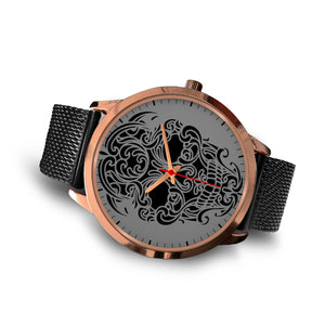 Sugar Skull Watch Rose Gold