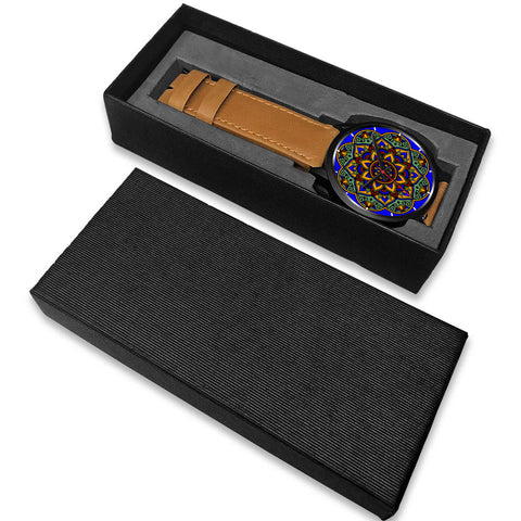 Colorful Boho Mandala Watch Box