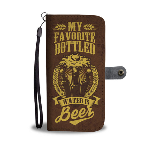 BOTTLED BEER PHONE WALLET CASE - AVAILABLE FOR 50+ SMARTPHONES - Discount Patrol
