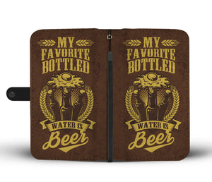 BOTTLED BEER PHONE WALLET CASE - AVAILABLE FOR 50+ SMARTPHONES