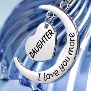 Daughter I Love You More Charm