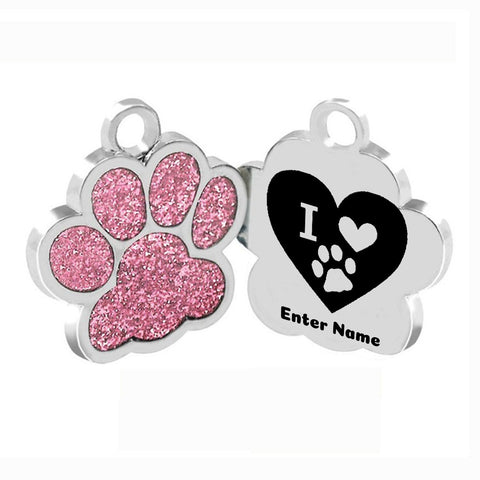 Image of Cute Personalized Dog and Cat ID Tag - Discount Patrol