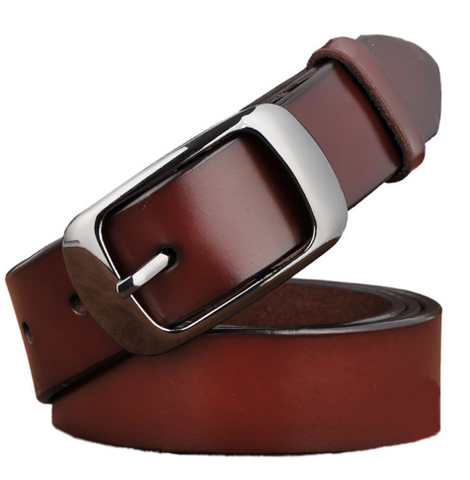 Image of New Designer Fashion Women's Belts Genuine Leather Brand Straps - Discount Patrol