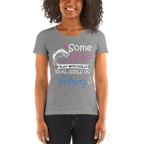 Real Girls Go Fishing T-Shirt - Discount Patrol
