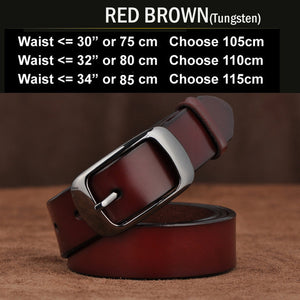 New Designer Fashion Women's Belts Genuine Leather Brand Straps