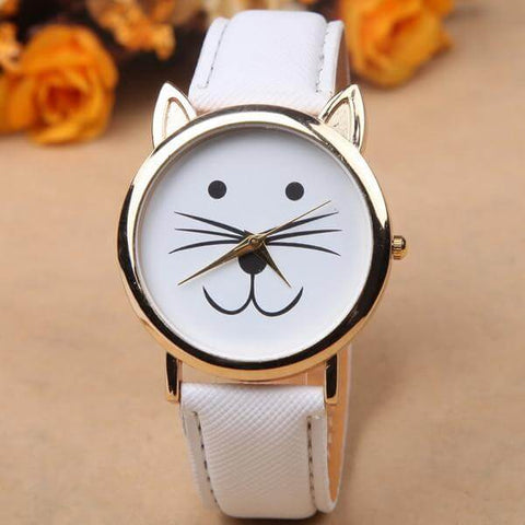 Image of Cute Cat Trendy Watch - Discount Patrol