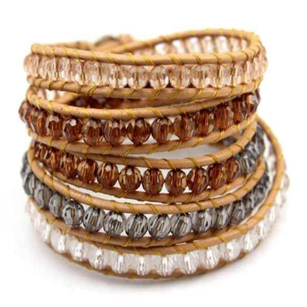 Royal Beaded Wrap Bracelet - Discount Patrol