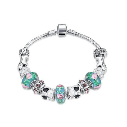 Cotton Candy Love Pandora Inspired Bracelet - Discount Patrol
