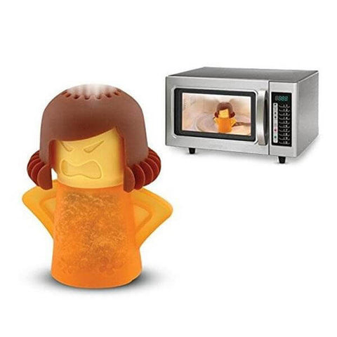 Image of Angry Mama Microwave Steam Cleaner - Discount Patrol