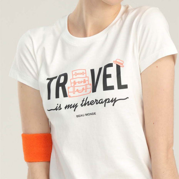 "Women's ""Travel"" Print Short Sleeve T-Shirt"