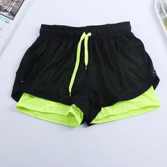 Women's Two Layer Active Shorts
