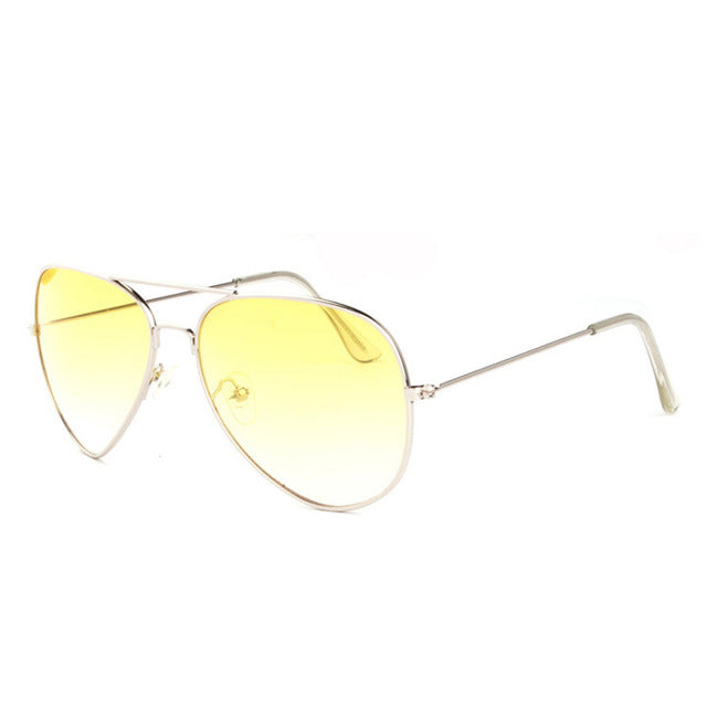 Pro Acme Women's Thin Metal Frame Aviation Sunglasses