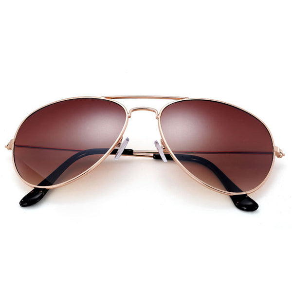 Pro Acme Women's Thin Frame Aviation Sunglasses