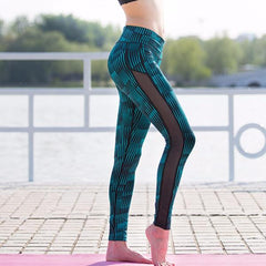 Women's Side Mesh Active Leggings