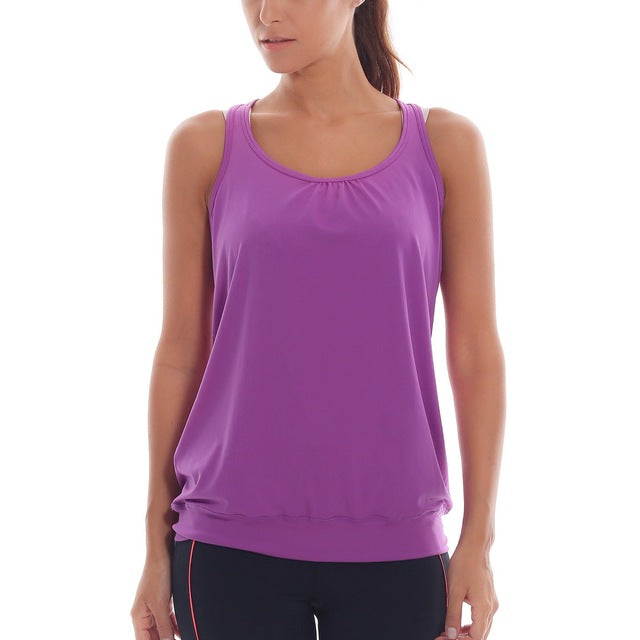 Women's Loose Quick Dry Active Tank Top