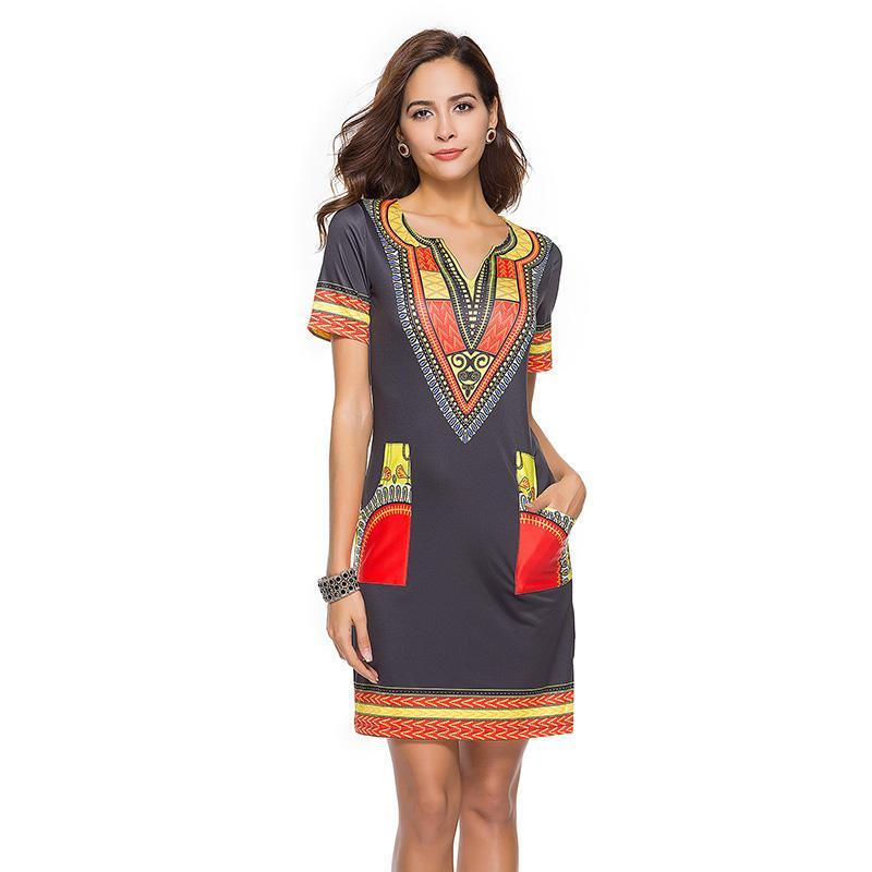 Women's African Inspired Dress