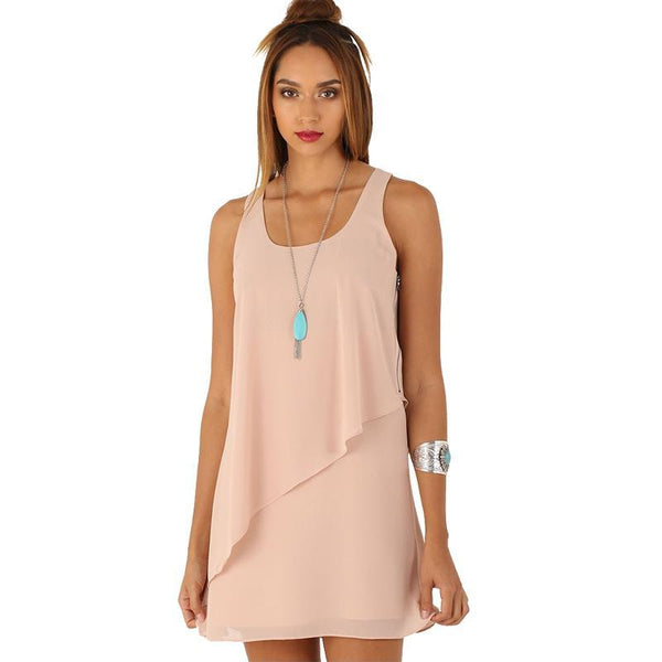 Women's Summer Chiffon Casual Dress