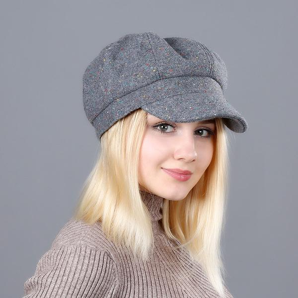 Women's Noise Pattern Newsboy Cap