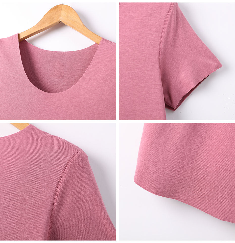 Women's Casual Solid O-Neck T-Shirt