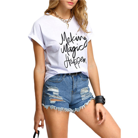 "Women's ""Making Magic Happen"" Short SleeveT-Shirt"