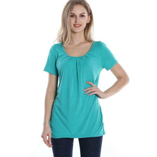 Women's Summer Style Short Sleeve O-Neck T-Shirt