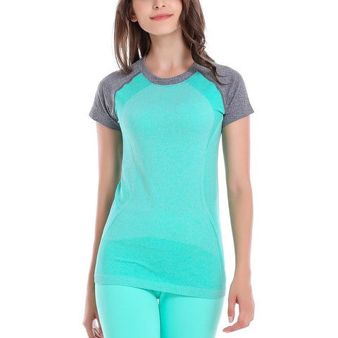 Women's Short Sleeve Quick Dry Active Top
