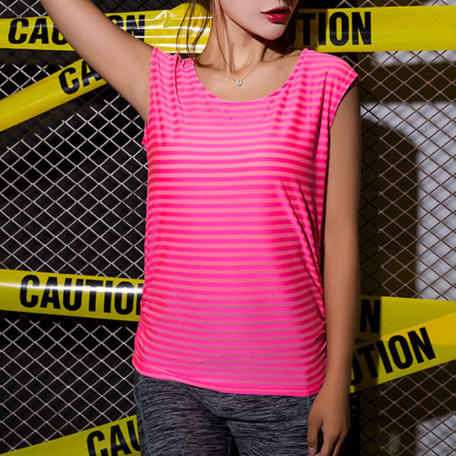 Women's Sleeveless Breathable Active Shirt