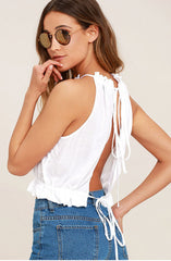 Women's Sleeveless Sling Top