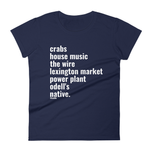 Baltimore Native T-Shirt (Women's)