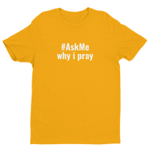 Why I Pray T-Shirt (Men's)