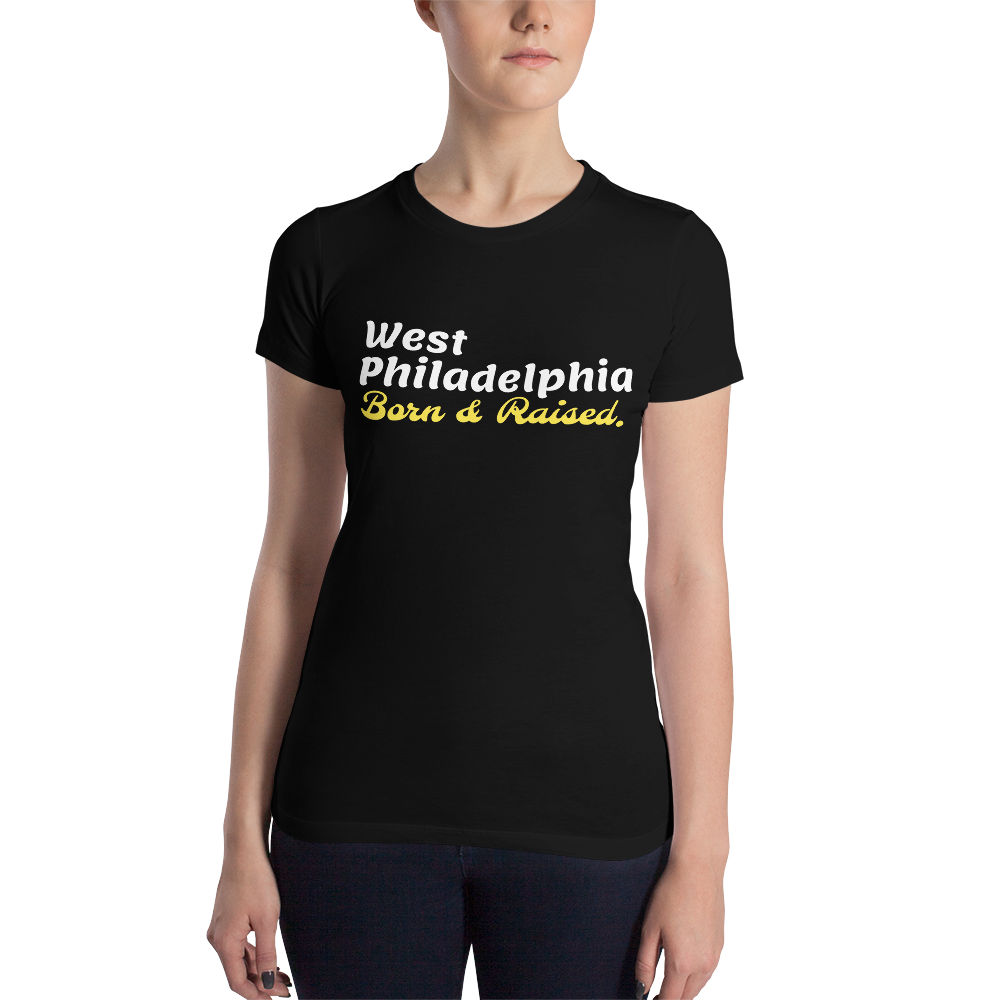 West Philadelphia - Women's Slim Fit T-Shirt