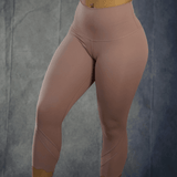 Breathless Rose Capri Mesh Gym Leggings