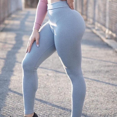 Queen's Reign Blue Dream Leggings - High Waisted Workout Leggings